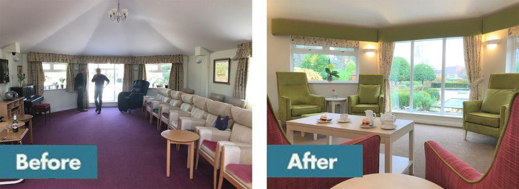 Care home conservatory refurbishment