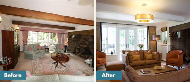 Before And After Residential Interior Design Services