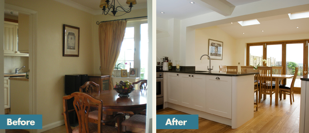 Homesmiths Before After Residential Interior Design Services