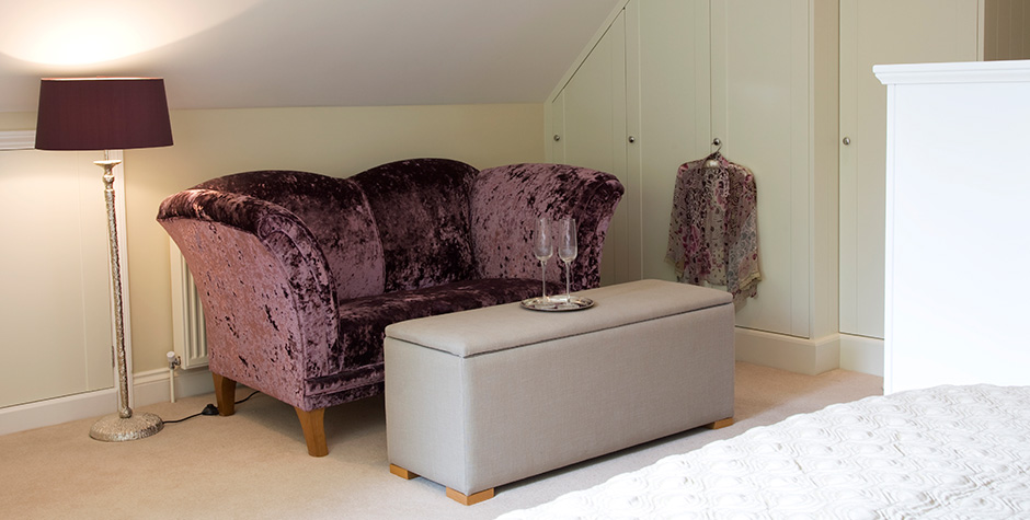 Bedroom Sofa Area