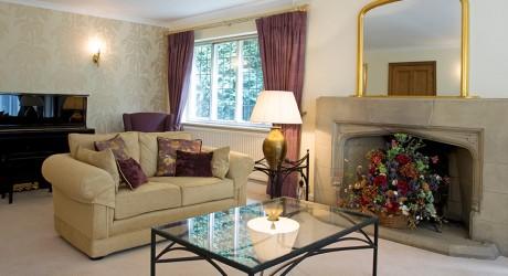 Cream sitting room