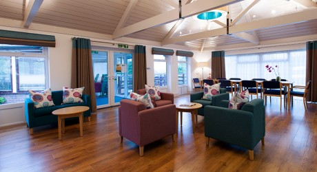 St Peter & St James hospice interior design