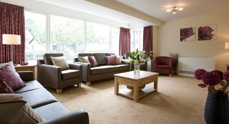 Surrey residential care home interior