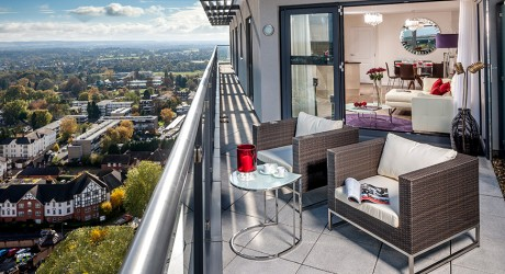 woking apartment balcony