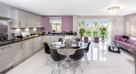hurstpierpoint show home interior