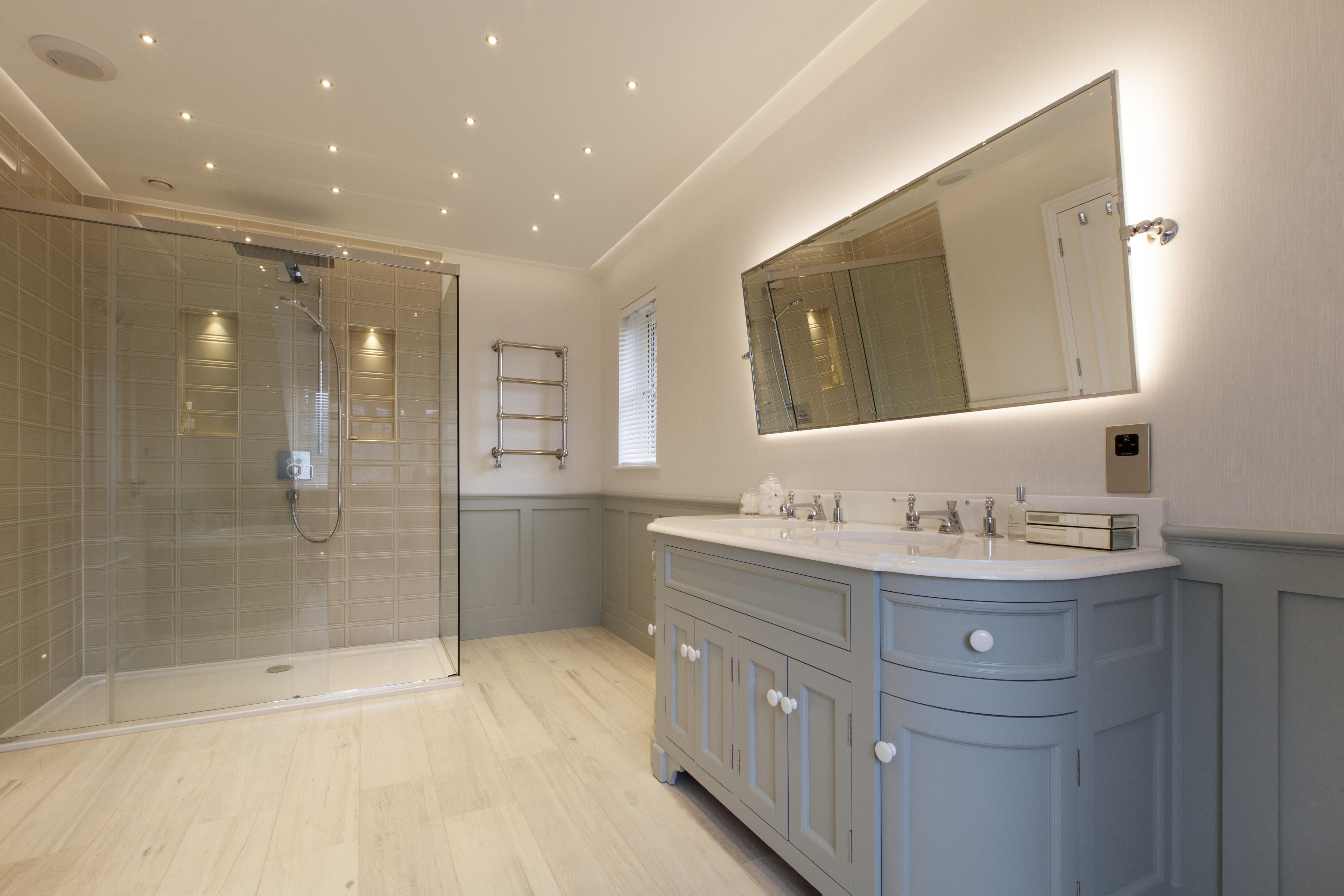 changing rooms en-suite refurbishment after