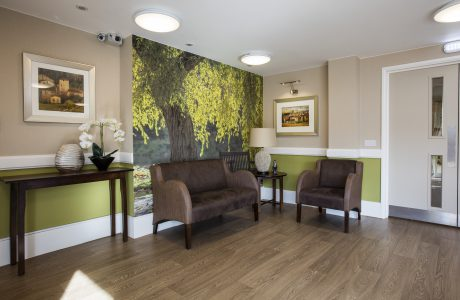 Interior design dementia care home