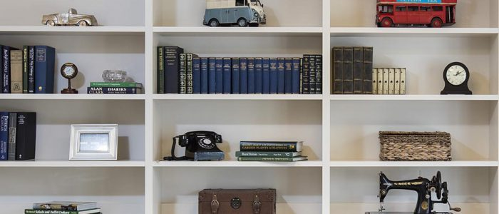 Care Home Library Shelving