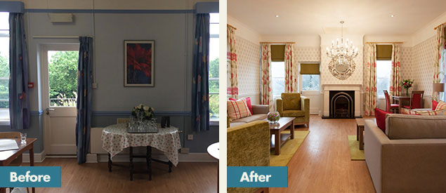 Before and After - Petworth Cottage Nursing Home