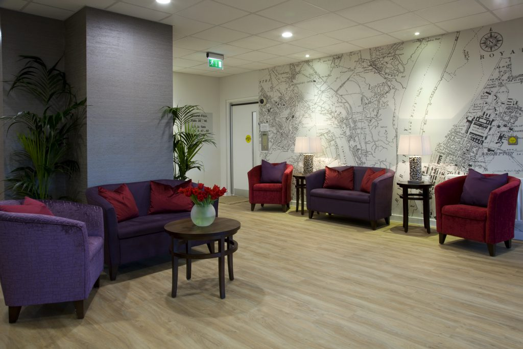 Extra Care reception