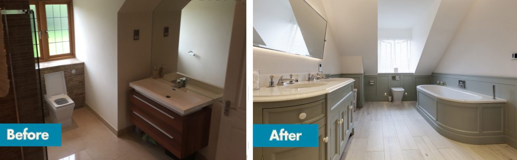 ensuite before and after