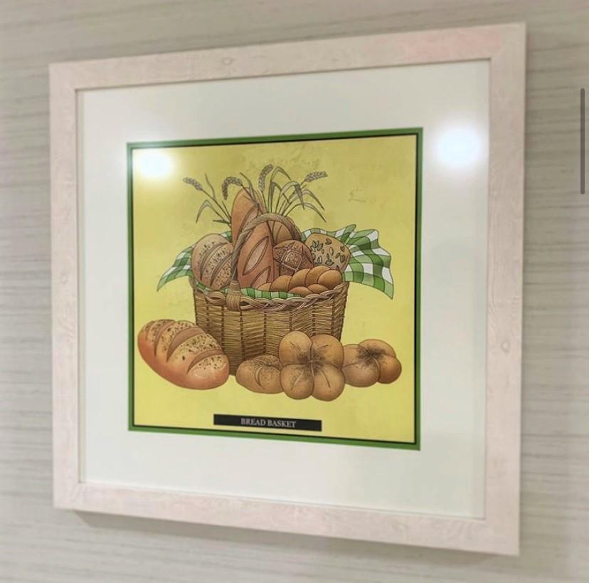 Farmhouse kitchen art