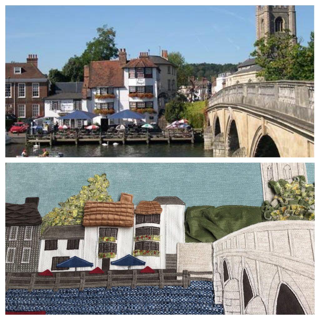 Henley bridge tactile art