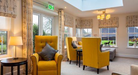 Sun room at Nyton House website