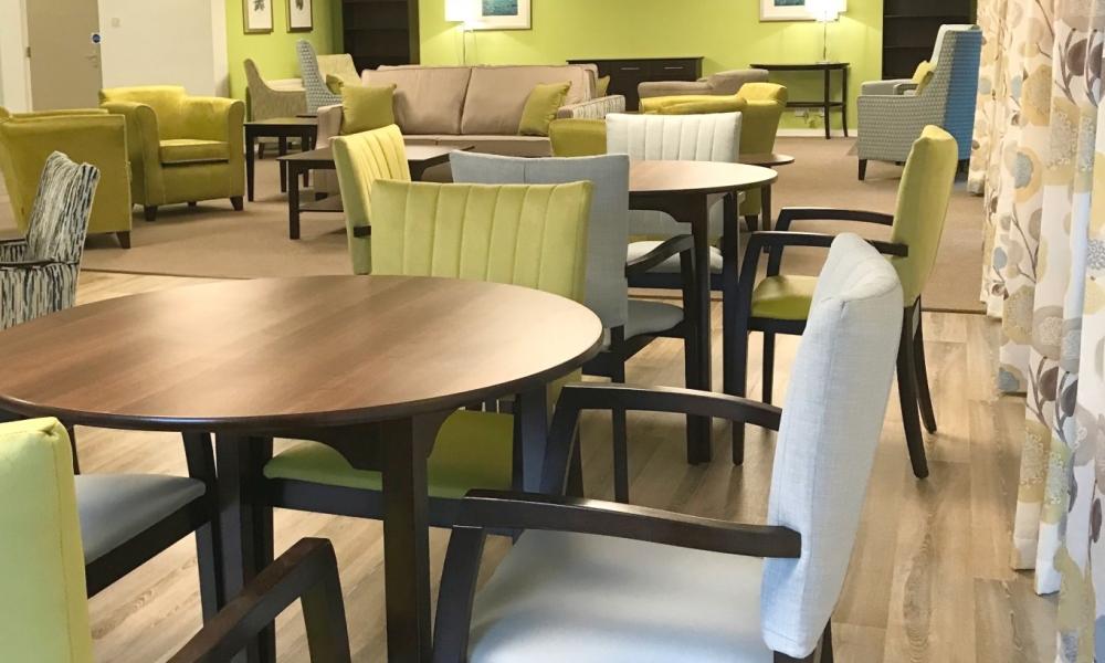 Retirement living dining room website